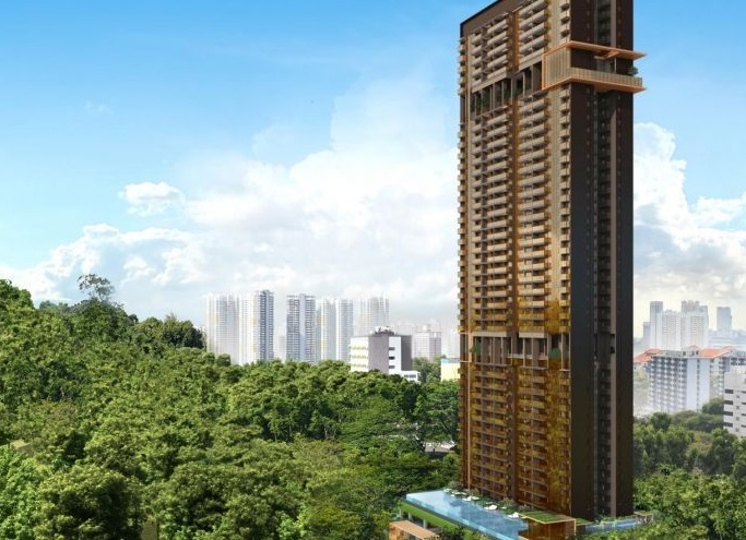 The Landmark, which was launched in November, was one of the best-selling projects.